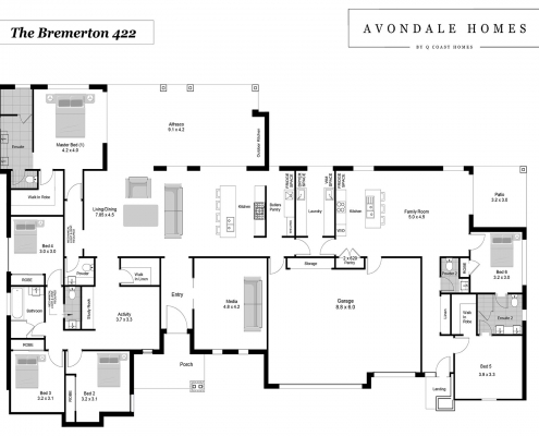 Bremerton 422 Floor Plan