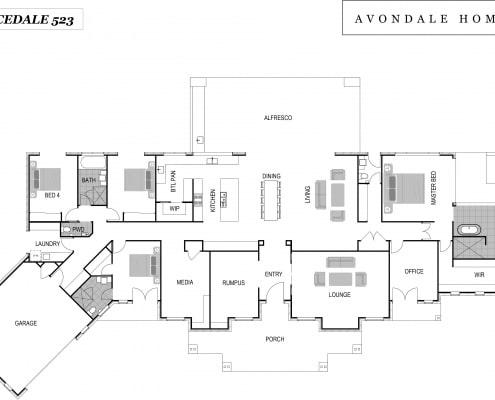 Gracedale 523 Floor Plan