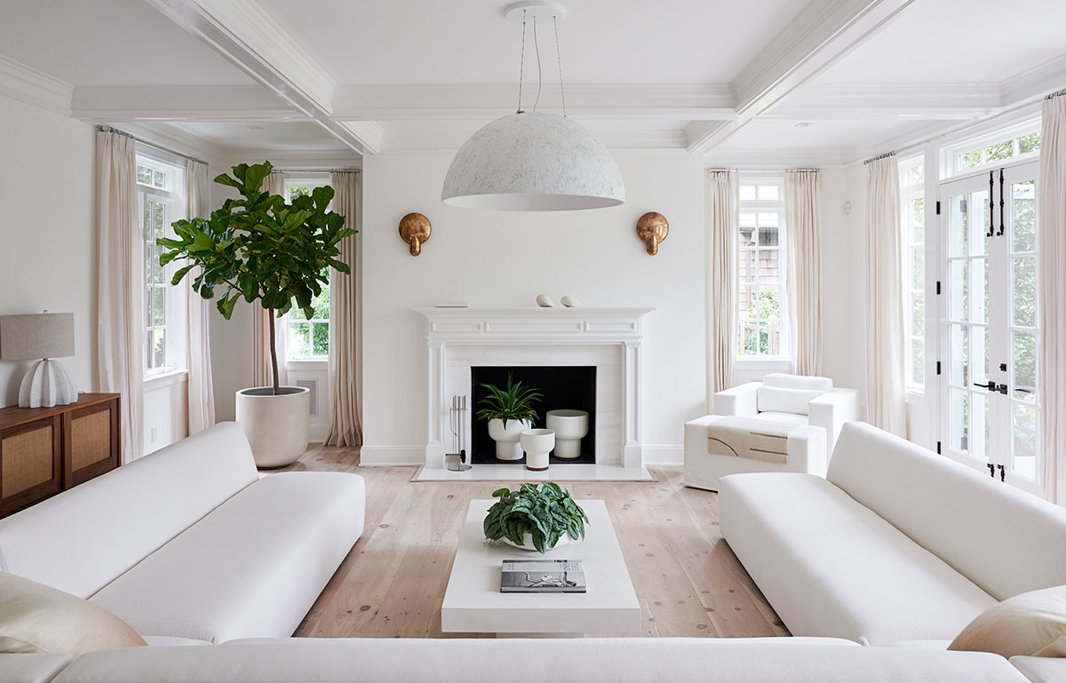 The Hamptons - Living room
