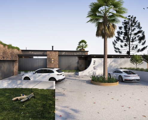 Architecture - Luxury vehicle